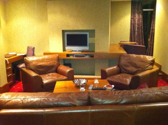 Tullamore Court Hotel: another view if suite 305's lounge area.