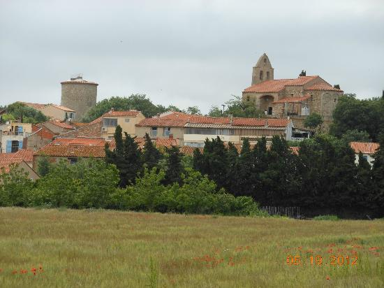 Le Chai Catalan: A view of the village of Ortaffa...