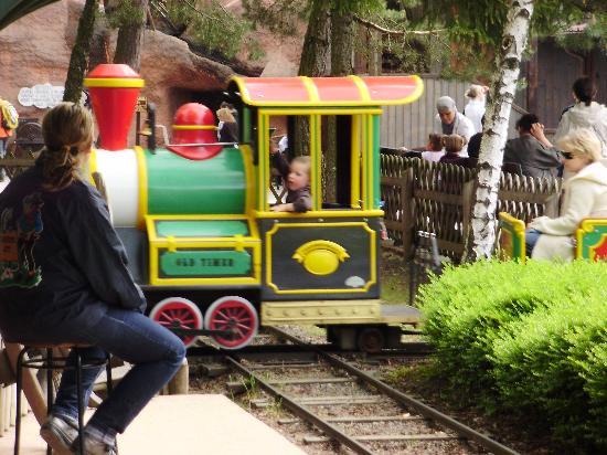 Fraispertuis City : le petit train
