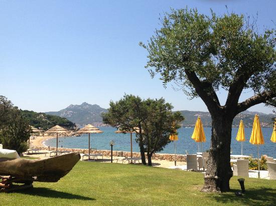 Hotel La Rocca Resort & Spa: The private beach
