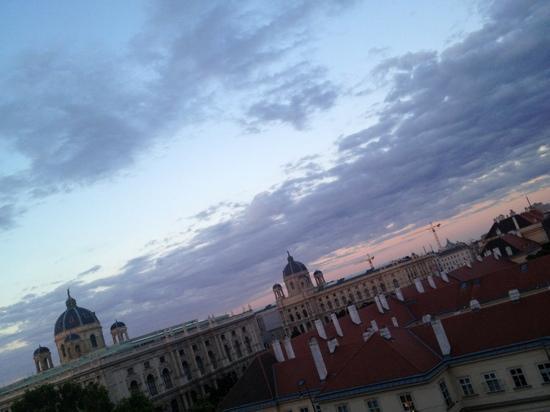 Hotel Pension Museum: desde la terraza