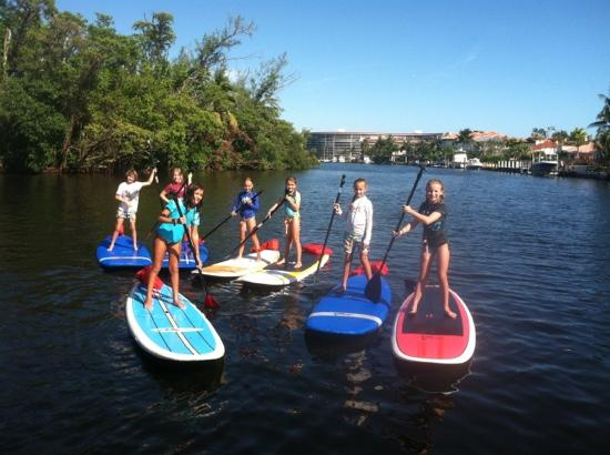 Island Water Sports: paddle board tours