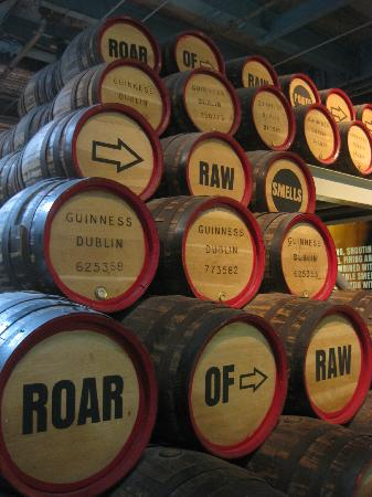 Guinness Storehouse: barrels