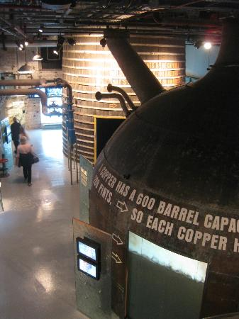 Guinness Storehouse: brewing