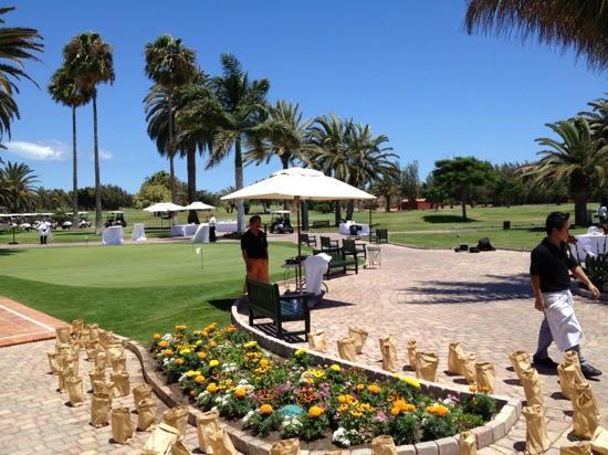 Campo de Golf Maspalomas: ultimos detalles de una boda