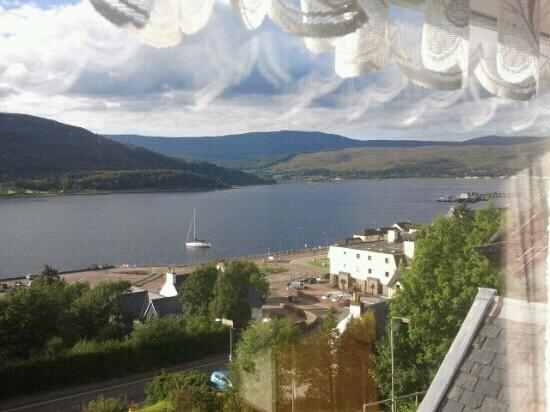 Glenmorven Guest House: Great view from bedroom window