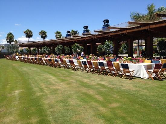 Campo de Golf Maspalomas: boda!!!!