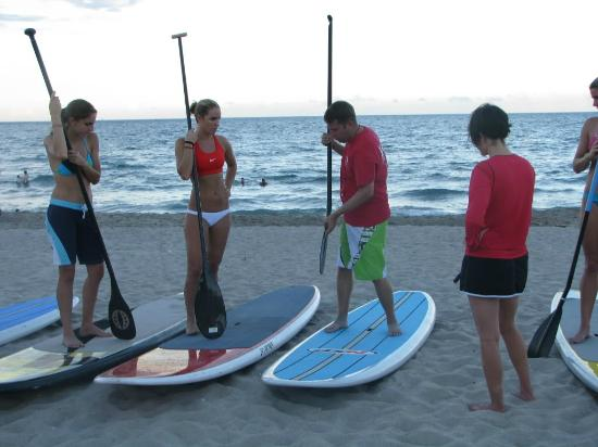 Island Water Sports: Stand Up Paddle Lesson