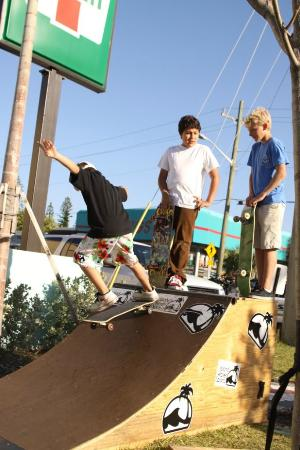 Island Water Sports: Skateboarding with Vans