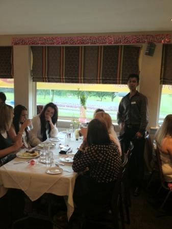 Jilabi: private room has ur own personal waiter