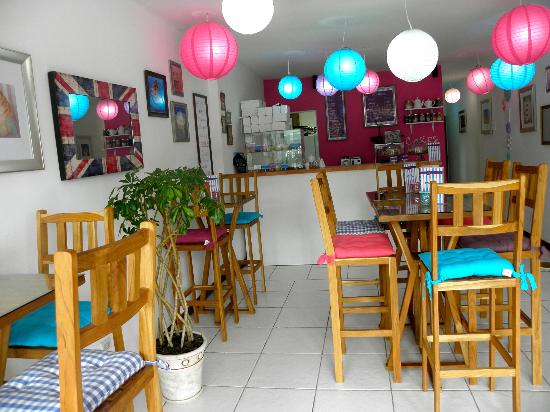 Sweet Sensations : The cafe