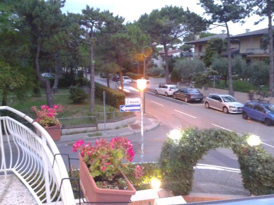 Hotel Irene: Sicht vom Balkon