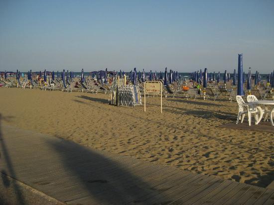Hotel San Marco : la spiaggia