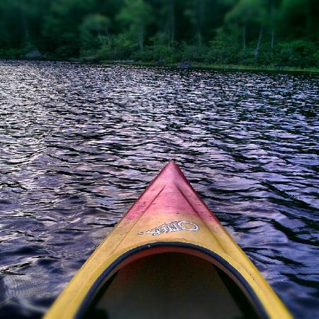 Williams Pond Lodge: Pond and kayaking!