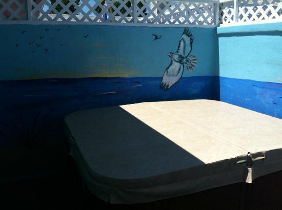 The Inn at Herrington Harbour: Hot Tub patio