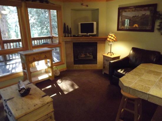 Estes Park Condos: Living Room