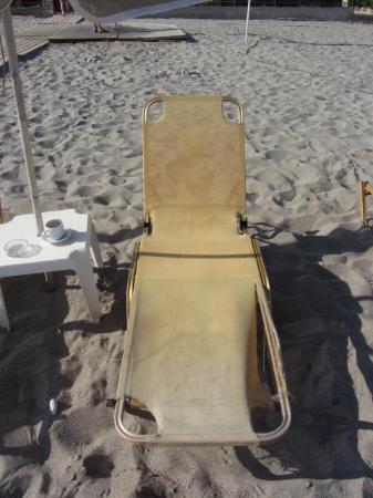 Dimitrios Village Beach Resort: voila les beaux transats !