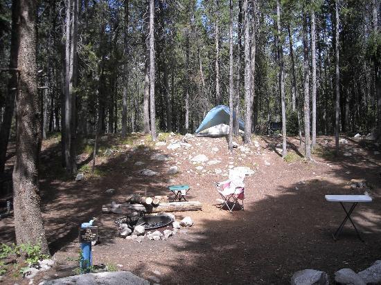 Jenny Lake Campground: Jenny Lake #26