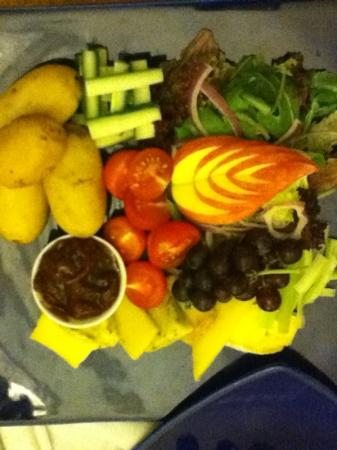 Beechwood Hotel: A Cold Platter with cheese