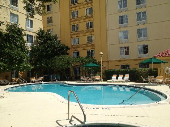 La Quinta Inn & Suites Orlando Convention Center: Pool by day