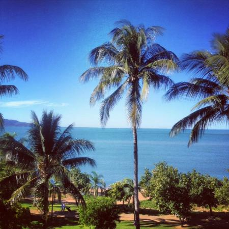 Aquarius on the Beach : View across to Magnetic Island from our balcony