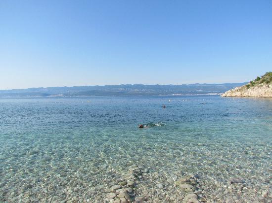 Opatija, Kroasia: Spiaggia di Potovsce