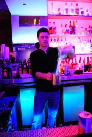 Sugar Cafe : See some flare from our bartenders!