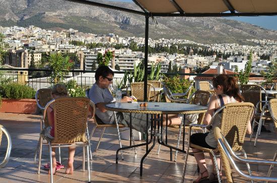 Ξενοδοχείο Φαίδρα: Roof area