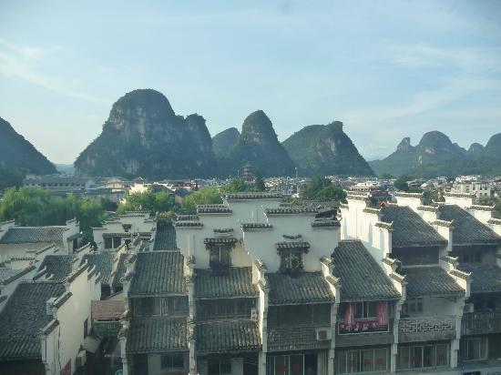 Starway Yangshuo Xijie Xinfu'an Hotel: Lovely view from room