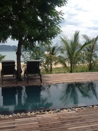 L'Alyana Villas Ninh Van Bay: la vue de la chambre