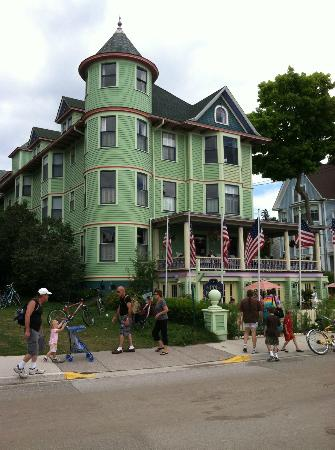 Inn on Mackinac: One of the most colorful B&B's on the island