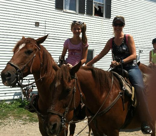 Cindy's Riding Stable Market Street: They will match you according to your experience with horses
