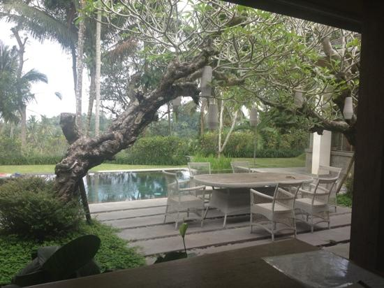 Chapung SeBali Resort and Spa: garden view villa 2