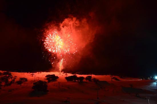 Salzburg Apartments: fireworks at night