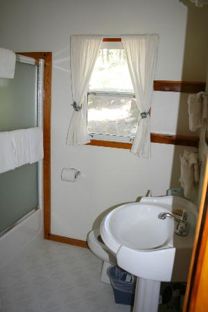 Tahoe Vista Lodge & Cabins: Bathroom