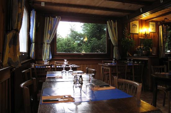 Hotel Les Randonneurs: dinning area