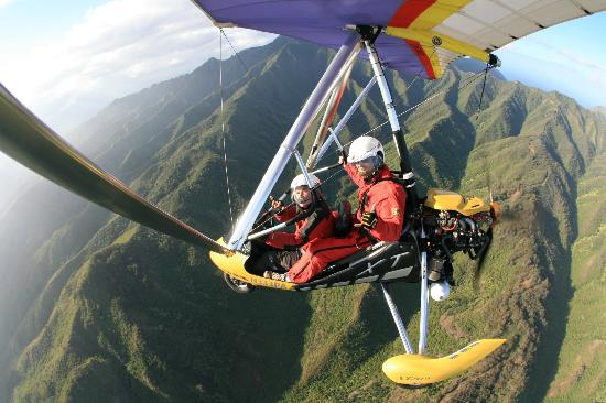 1 mile high and climbing picture of paradise air haleiwa tripadvisor. Black Bedroom Furniture Sets. Home Design Ideas