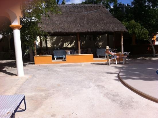Hacienda del Sol: zona comedor 