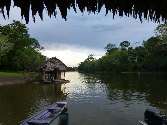 Muyuna Amazon Lodge: view of the river