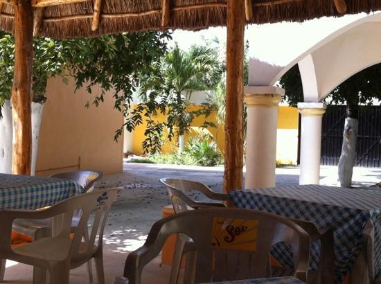 Hacienda del Sol: comedor 