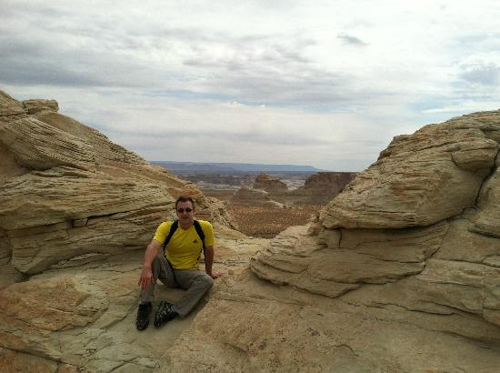 Amangiri: View from the Hoodoo trail on the property