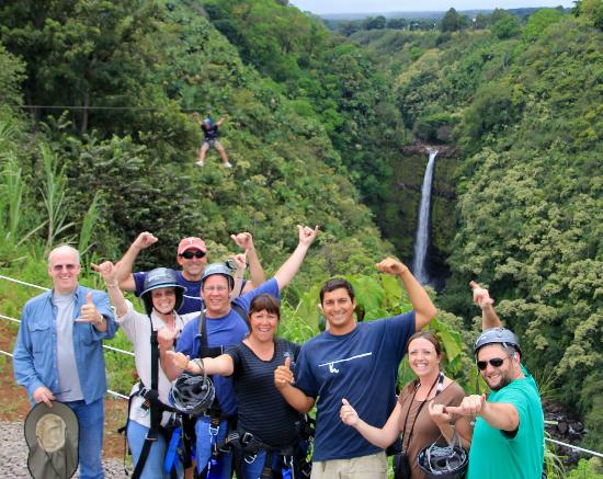 Skyline Eco Adventures - Akaka Falls: So much fun!