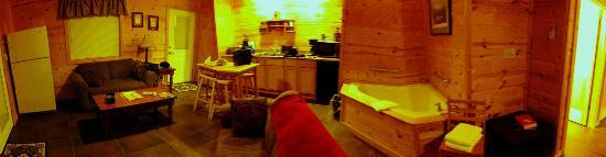 Cabins at Sugar Mountain: Kitchen Area