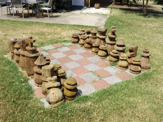 Cabins at Sugar Mountain: Chess set