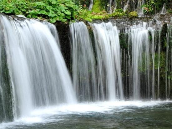 Karuizawa-machi, Japan: 白糸の滝