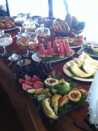 Villas de Trancoso Hotel: Cafe da manhã!!