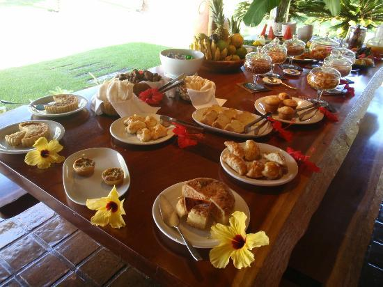 Villas de Trancoso Hotel: Cafe da manha muito bom!!!!