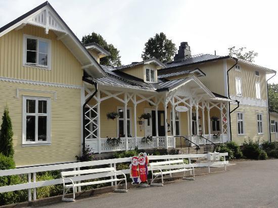 Fredensborgs Herrgard: Hotel - Eingangsbereich