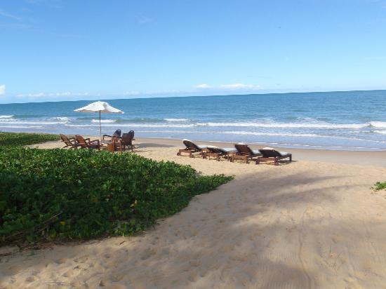 Villas de Trancoso Hotel: Praia muito Exclusiva