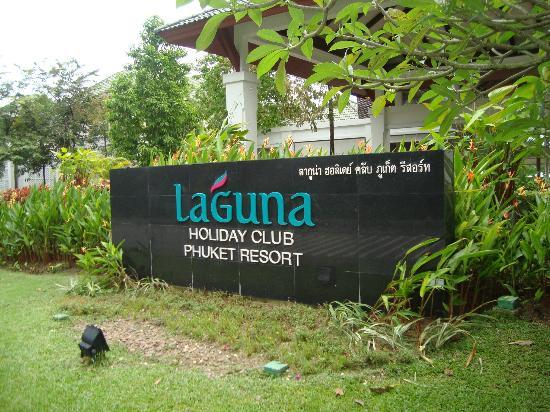 Laguna Holiday Club Phuket Resort: The hotel entrance